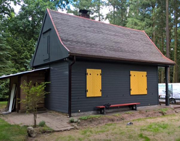 Forsthaus in der Schorfheide