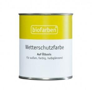 Biofarben Wetterschutzfarbe - Dickschichtlasur aussen aus Naturölen kaufen