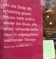 Biofarben Bruno Taut