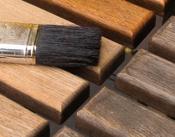 Holzbehandlung