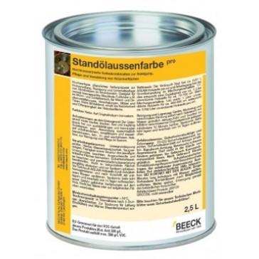 BEECK Leinöl-Standölaussenfarbe pro getönt seidenglänzend