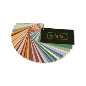 Biofarben Wandklang Farbfächer