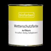 Biofarben Wetterschutzfarbe
