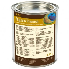 Aquasol Innenlack seidenmatt weiss für Türen, Möbel und Gebrauchsgegenstände aus Holz und Eisenmetall