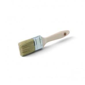 Flachpinsel für Holzlasuren, Grundierungen und Biofarben Schwedenrot