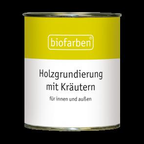 Biofarben Holzgrundierung mit Kräutern - Vorbehandlung für unbehandeltes Holz
