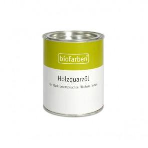 Biofarben Holzquarzöl - farbloses wasserfestes Hartwachsöl mit Silikaten online kaufen