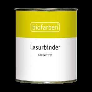 Biofarben Lasurbinder zur Herstellung farbiger Wandlasuren