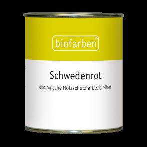 Biofarben Schwedenrot blei- und schwermetallfrei