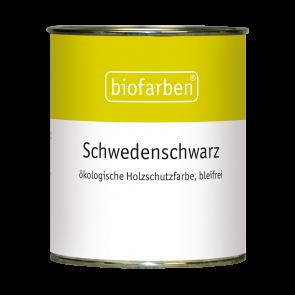 Biofarben Schwedenschwarz - blei- und schwermetallfrei