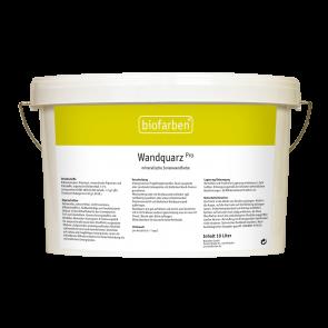 Biofarben Wandquarz pro getönt Premium Sol-Silikatfarbe