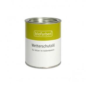 Biofarben Wetterschutzöl für Gartenmöbel, Holzterrassen und Holzfassaden