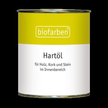 Biofarben Hartöl - offenporiger, samtmatter Oberflächenschutz für alle saugfähigen Untergründe im Innenbereich wie Holz, Kork und unglasierte Tonfliesen. Für Kinderzimmermöbel geeignet.