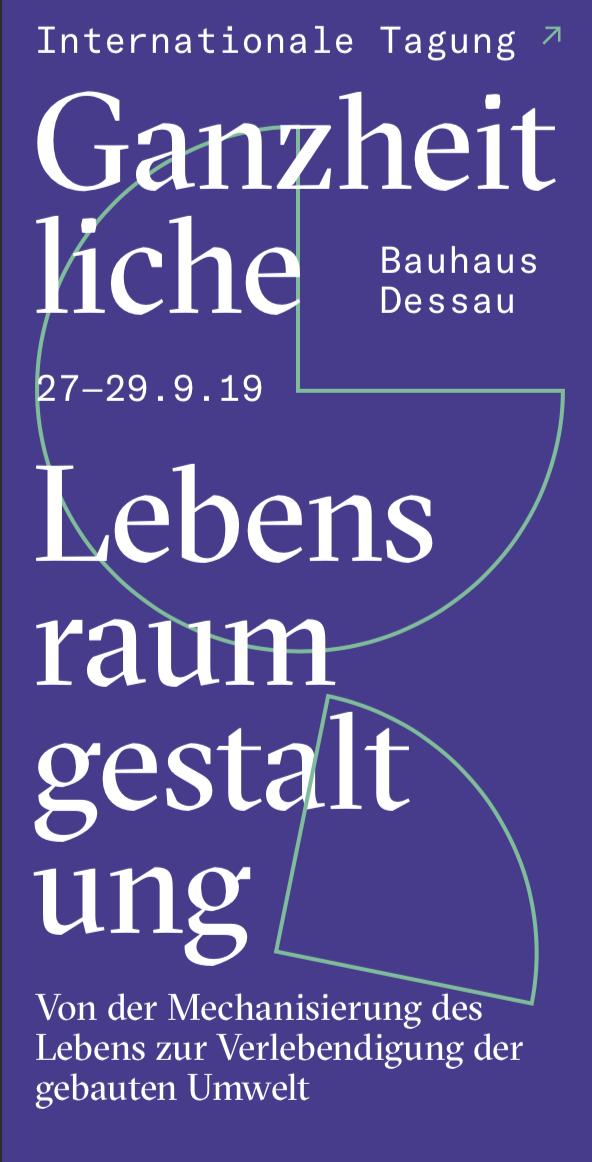 Vortrag Wolfgang Güse Bauhaus Dessau