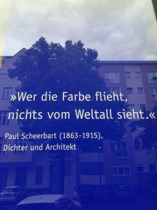 Biofarben Paul Scheerbart