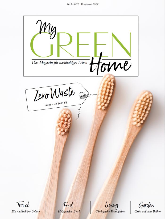 Artikel über Biofarben im Nachhaltigkeitsmagazin My green Home