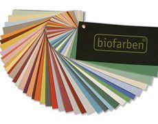 Biofarben Wandklang Fächer