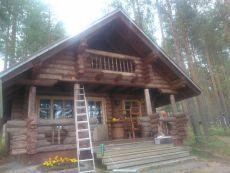 Finnisches Mokka ohne Biofarben Wetterschutzfarbe