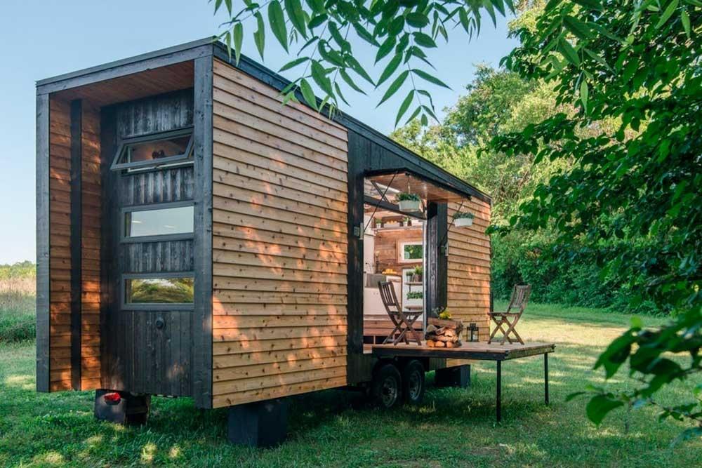 Der Architekt Christoph Bijok schreibt auf der Website des IBN zu Tiny Houses und Baurecht